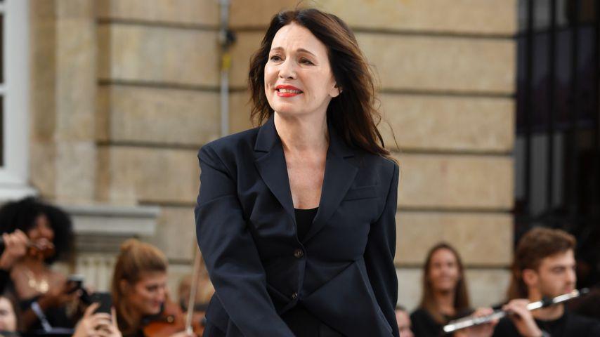 """Iris Berben bei der """"Le Defile L'Oreal Paris"""" Show, September 2019"""