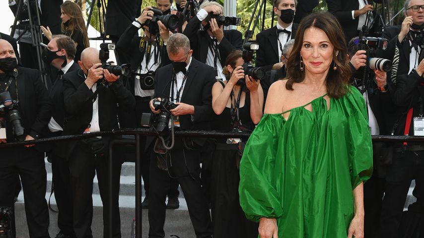 Iris Berben bei den 74. Filmfestspielen in Cannes im Juli 2021