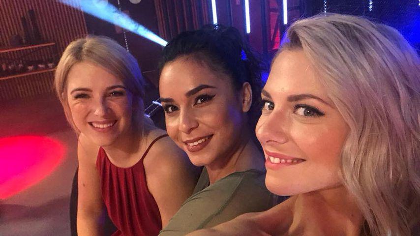 Iris Mareike Steen, Gamze Senol und Valentina Pahde
