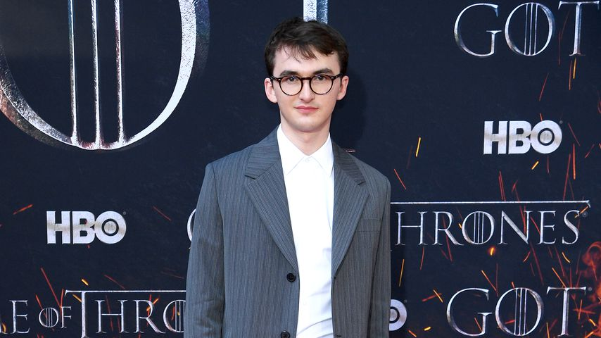 """Game of Thrones""-Star Isaac Hempstead-Wright, April 2019"