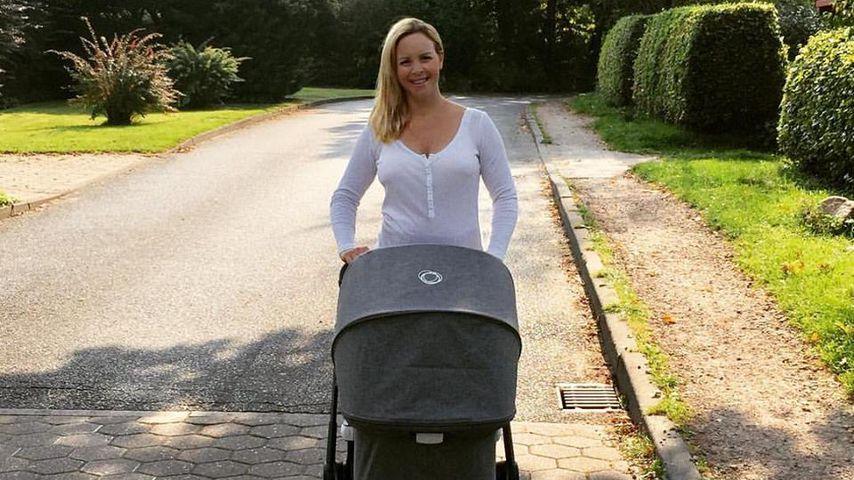 Nach Geburt: Isabel Edvardsson macht sich keinen Diät-Stress