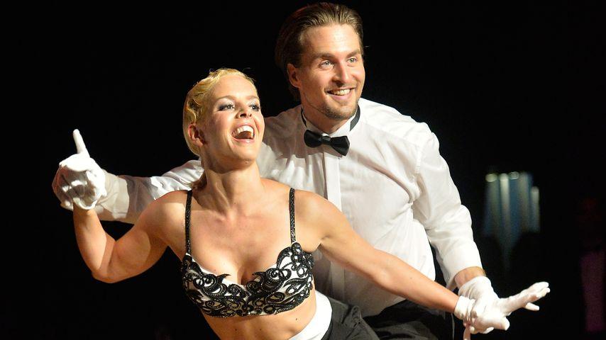 "Isabel Edvardsson und Alexander Klaws bei ""Night Of The Stars 2014"""