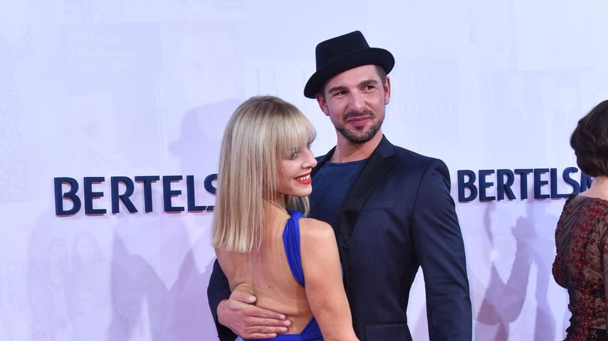 Isabel Edvardsson und Benjamin Piwko bei der Bertelsmann Party 2019