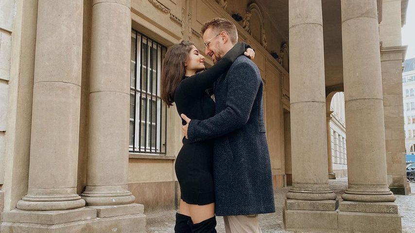 Ischtar Isik und ihr Verlobter Tommy, 2020