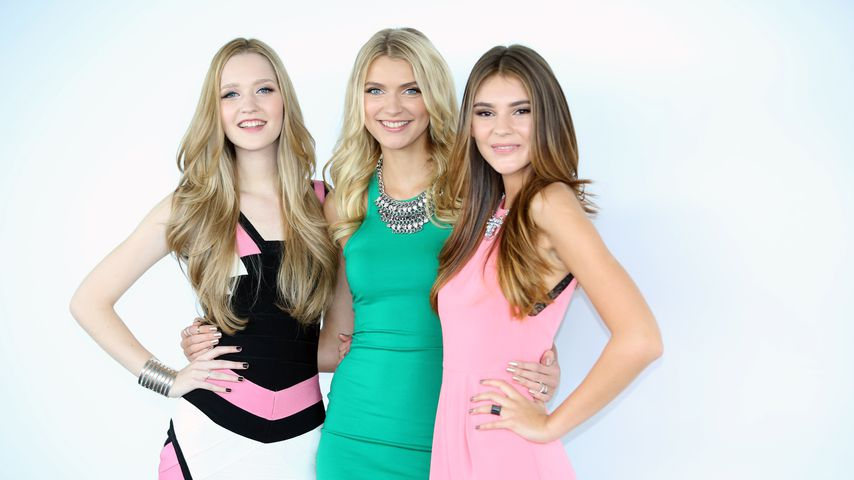"Ivana Teklic, Jolina Fust und Stefanie Giesinger, ""Germany's next Topmodel""-Finalistinnen 2014"