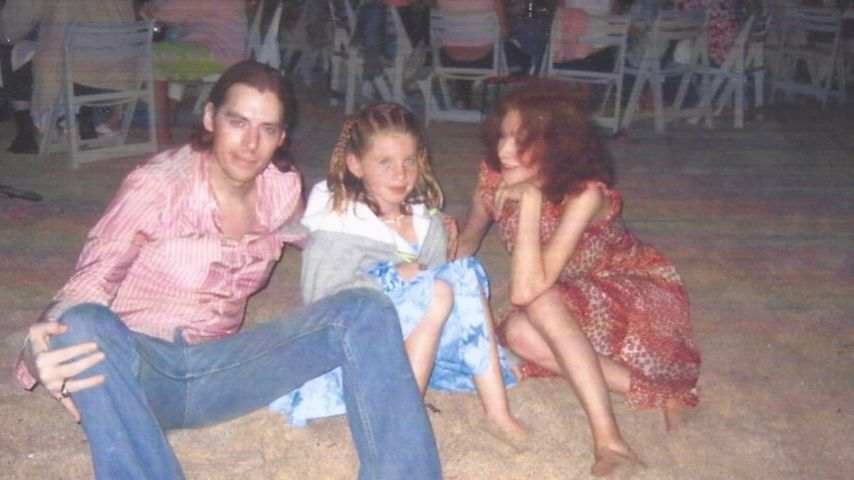 Ivy Getty mit ihren Eltern