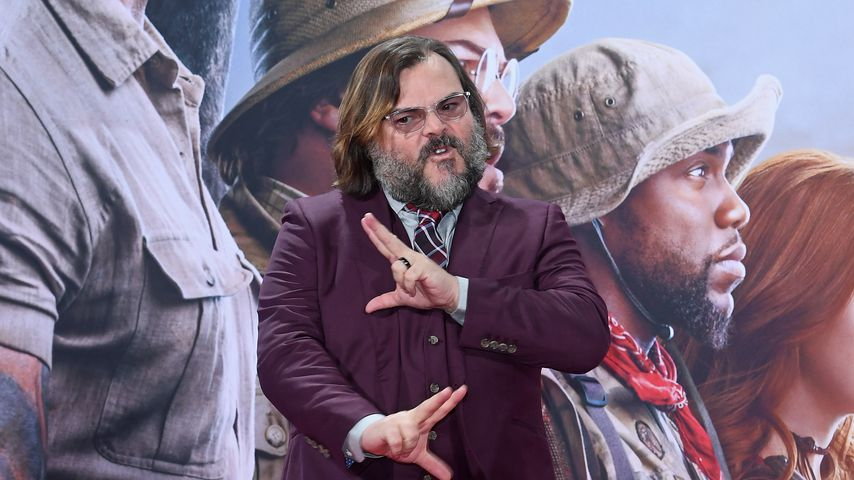 "Teenager-Rolle in ""Jumanji"" – so war es für Jack Black (50)"