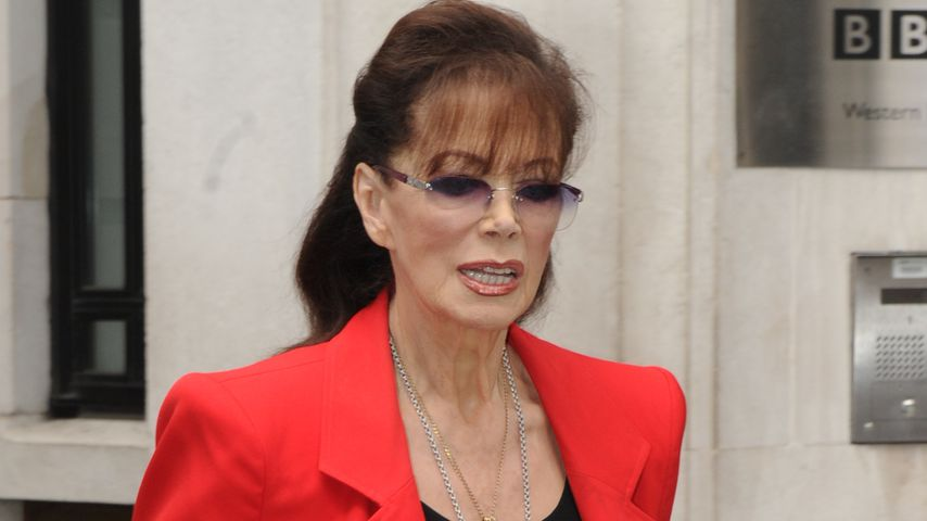 Jackie Collins 2015 in London