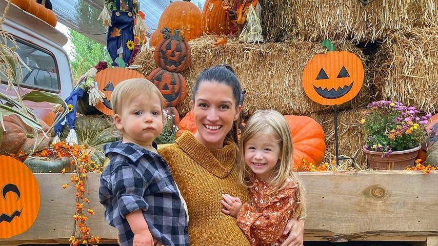Jade Roper Tolbert mit ihren Kindern im Oktober 2020