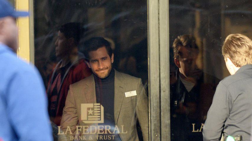 """Jake Gyllenhaal am Set des Films """"Ambulance"""""""