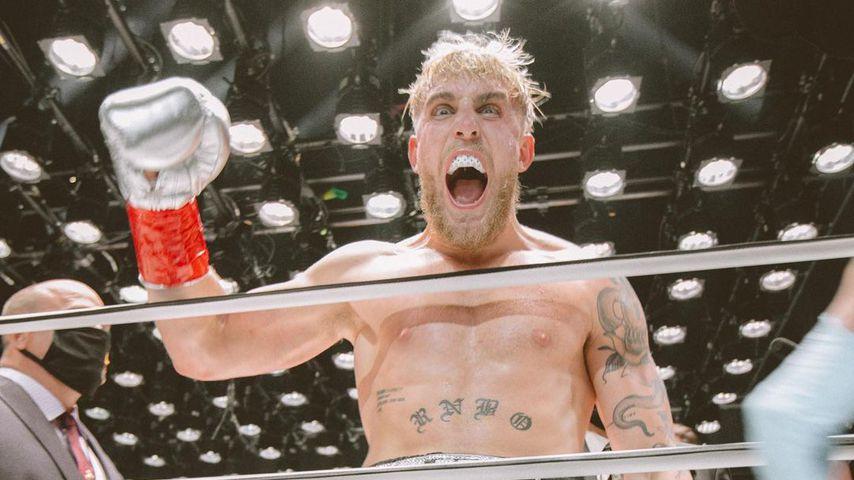 Jake Paul nach einem Boxkampf im November 2020