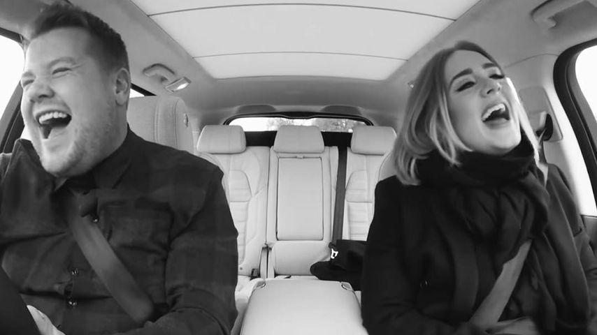 James Corden und Adele