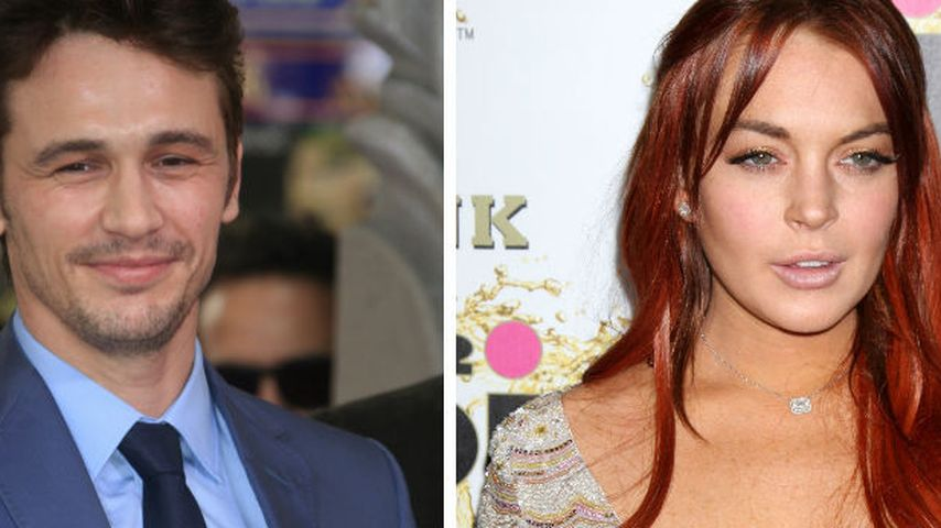 James Franco lehnte Sex mit Lindsay Lohan ab!