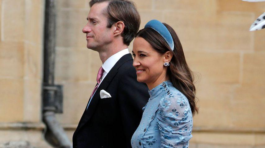 James Matthews und Pippa Middelton bei der Hochzeit von Lady Gabriella Windsor, Mai 2019