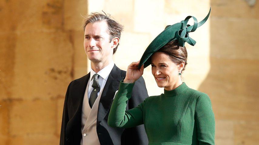 Pippa Middleton: Im neunten Monat bei Eugenies Hochzeit