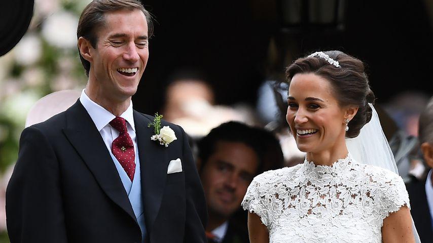 James Matthews und Pippa Middleton an ihrem Hochzeitstag