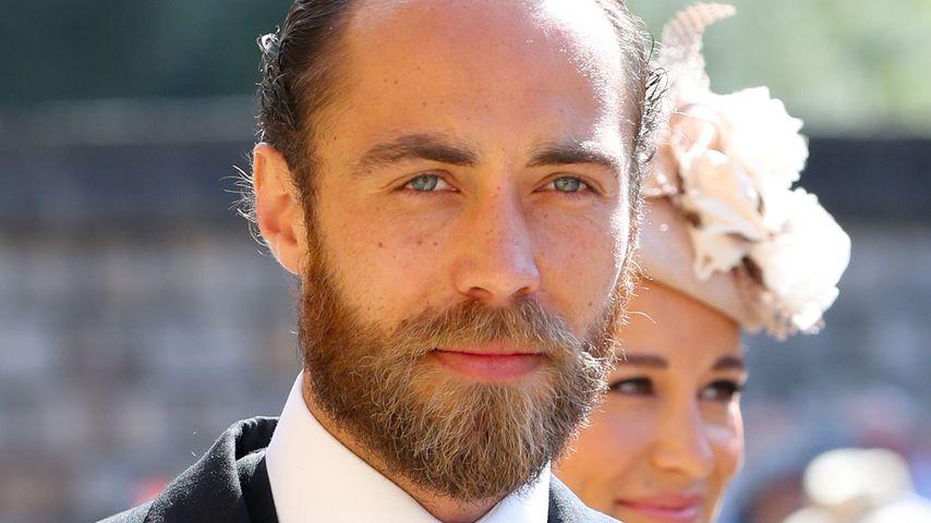 James Middleton auf der Hochzeit von Prinz Harry und Herzogin Meghan im Mai 2018