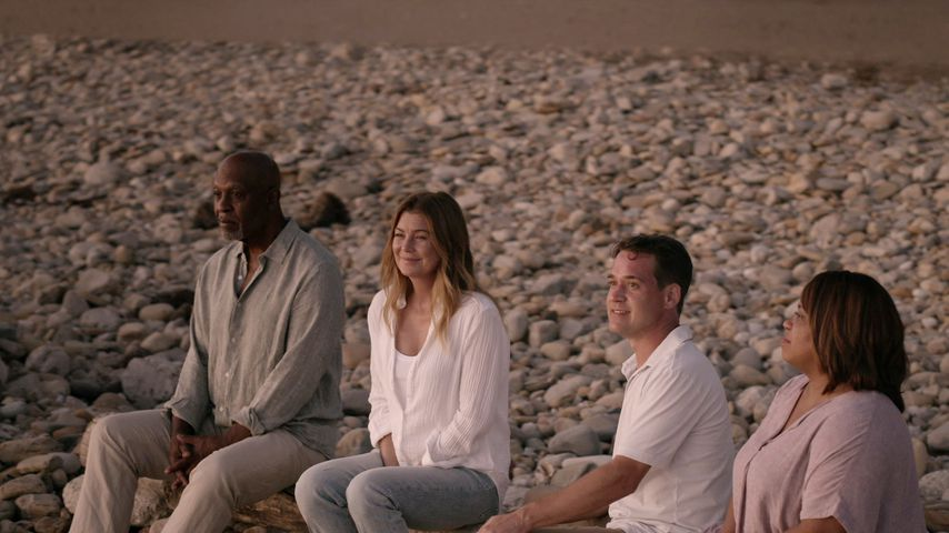 """James Pickens Jr., Ellen Pompeo, T.R. Knight und Chandra Wilson in """"Grey's Anatomy"""""""