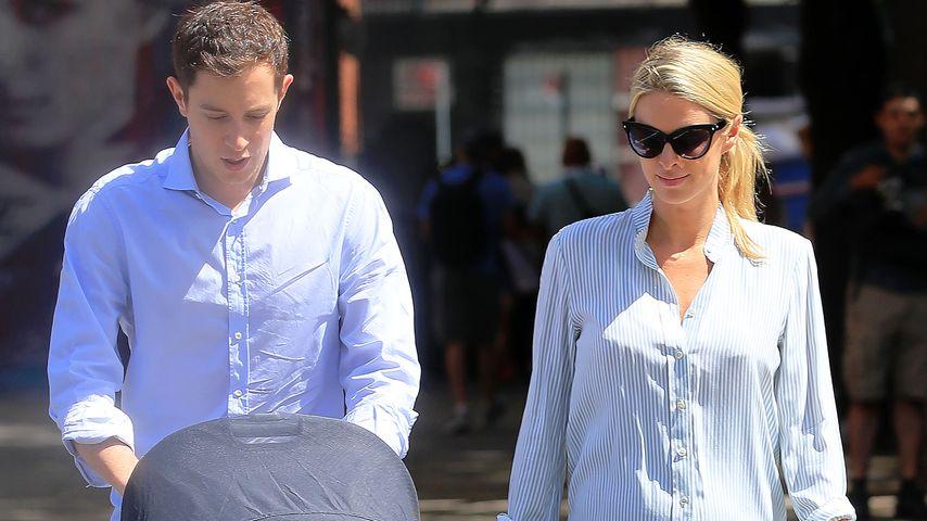 Kurz nach Geburt: Nicky Hilton macht 1. Baby-Spaziergang!
