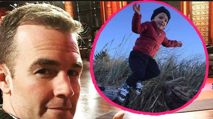Zärtliche Worte: James Van der Beek stolz auf seinen Sohn