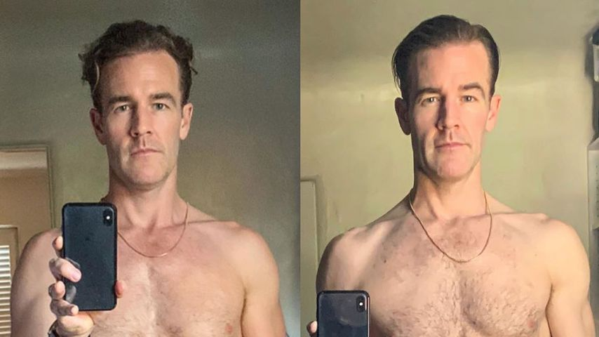 Hier zeigt James Van Der Beek seine Body-Transformation!