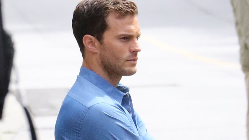"""Fifty Shades Darker"": Jamie Dornan und PLL-Brant in Action"