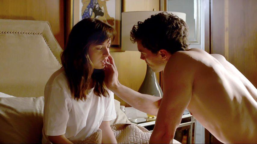 Fifty Shades Darker So Lief Sex Szenen Dreh Wirklich Ab