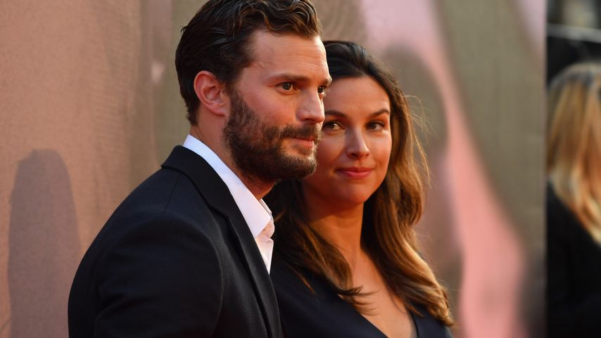 Jamie Dornan und Amelia Warner im Oktober 2018 in London