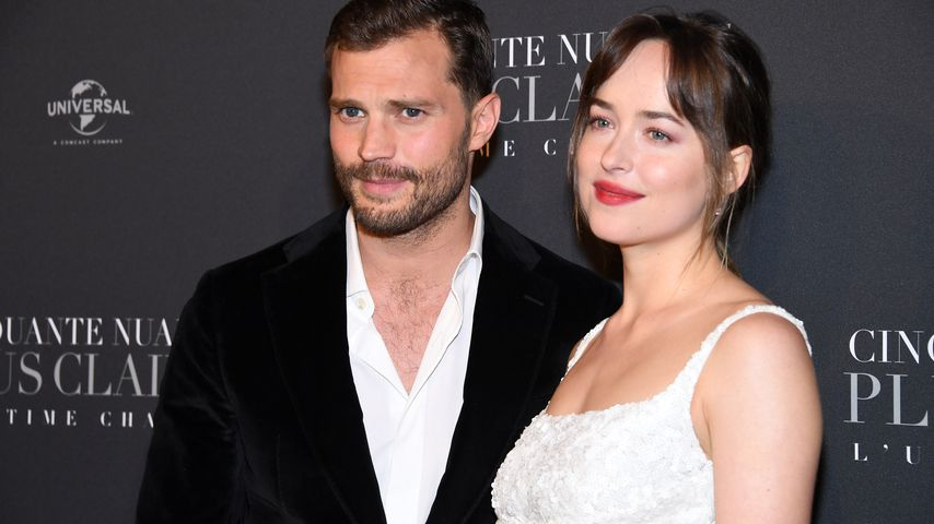 "Jamie Dornan und Dakota Johnson auf der ""Shades of Grey 3""-Premiere in Paris"