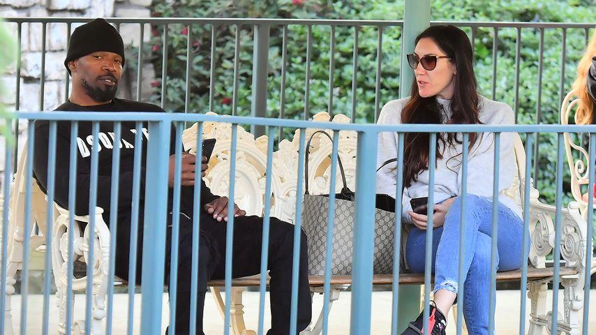 Seltener Anblick: Jamie Foxx mit Ex-Freundin im Disneyland