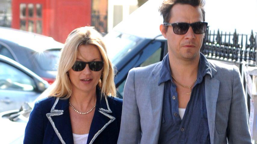 Kate Moss und Jamie Hince im süßen Partnerlook