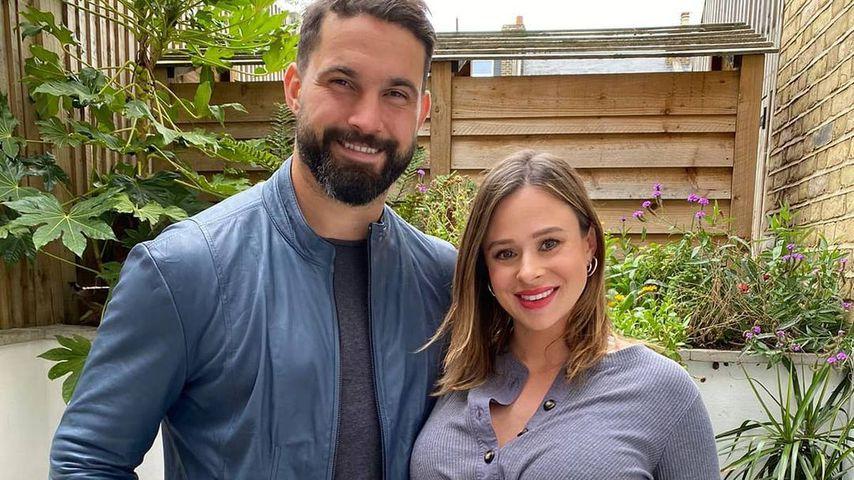 Jamie Jewitt und Camilla Thurlow im September 2020