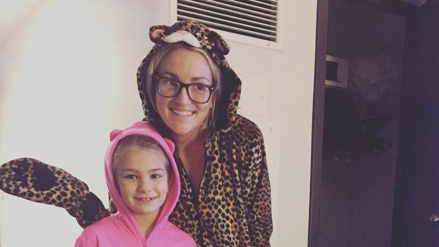 Maddie Briann Aldridge mit ihrer Mutter Jamie Lynn Spears