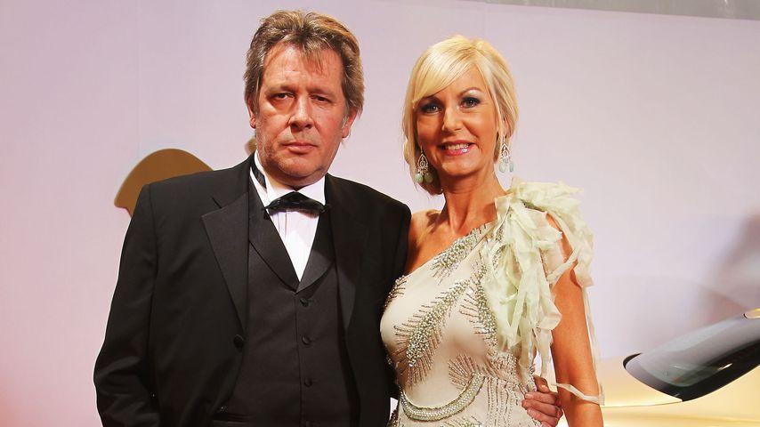 Jan Fedder mit seiner Frau Marion in Potsdamm