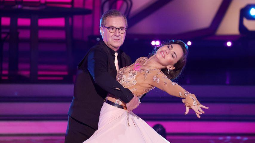 """Jan Hofer und Renata Lusin in der Kennenlern-Show von """"Let's Dance"""""""