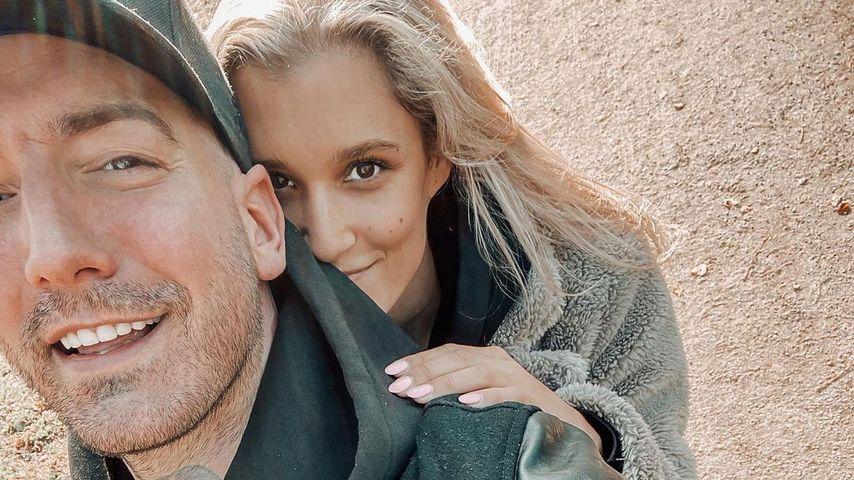Jan Leyk und seine Freundin