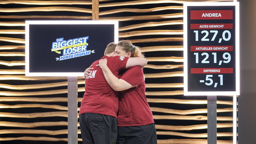 """Jan und Andrea bei """"The Biggest Loser – Family Power Couples"""""""
