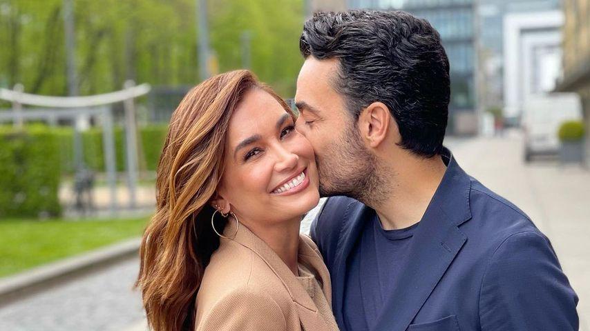 Moderatorin Jana Ina Zarrella mit ihrem Ehemann Giovanni