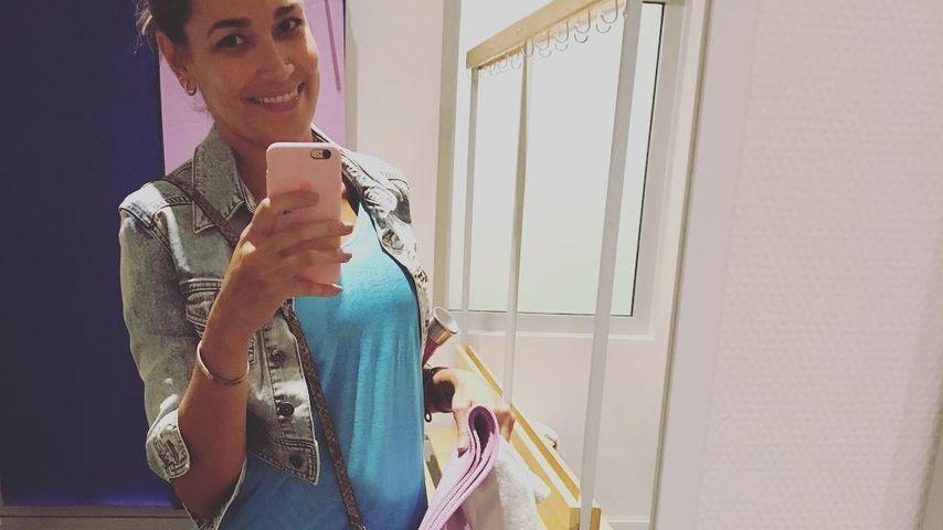 Ist das ein Babybauch? Jana Ina Zarrella verdächtig rund!