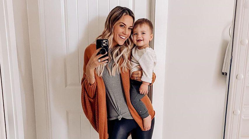 Jana Kramer mit ihrem Sohn Jace im Januar 2020
