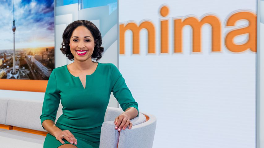 """Jana Pareigis beim """"ZDF Mittagsmagazin"""""""