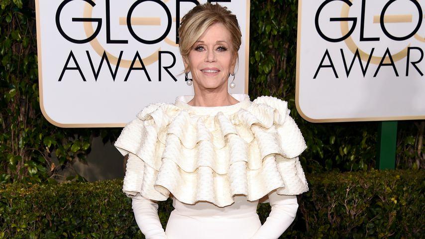 Jane Fonda bei den Golden Globes 2016