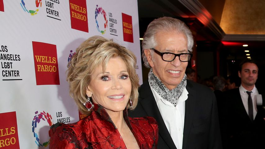Jane Fonda und Richard Perry