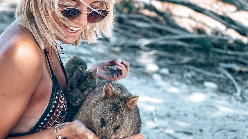 Janina Celine Jahn auf Rottnest Island, Australien