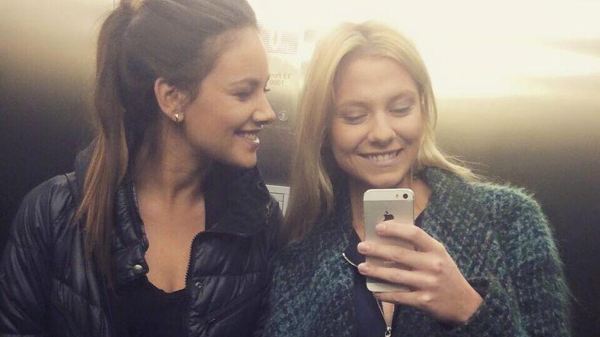 Janina Uhse und Valentina Pahde