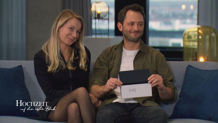 """Janina und Dennis, """"Hochzeit auf den ersten Blick""""-Kandidaten 2020"""