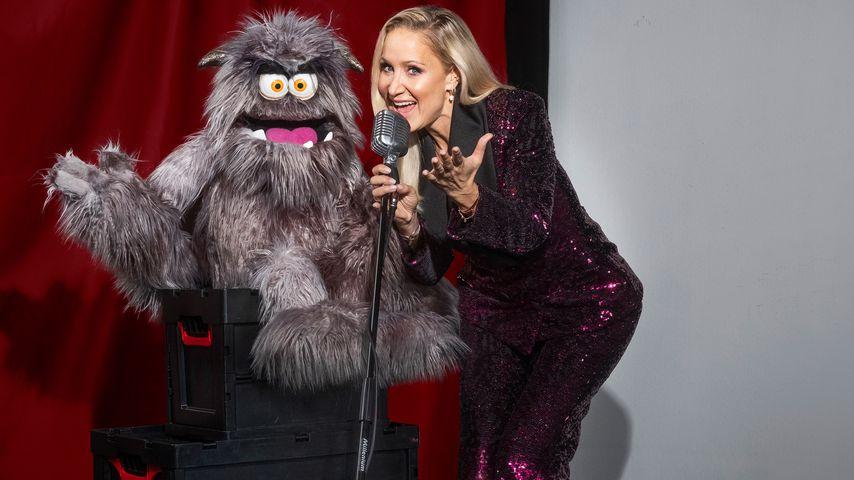 """Janine Kunze schwärmt von ihrem """"Pretty in Plüsch""""-Partner"""