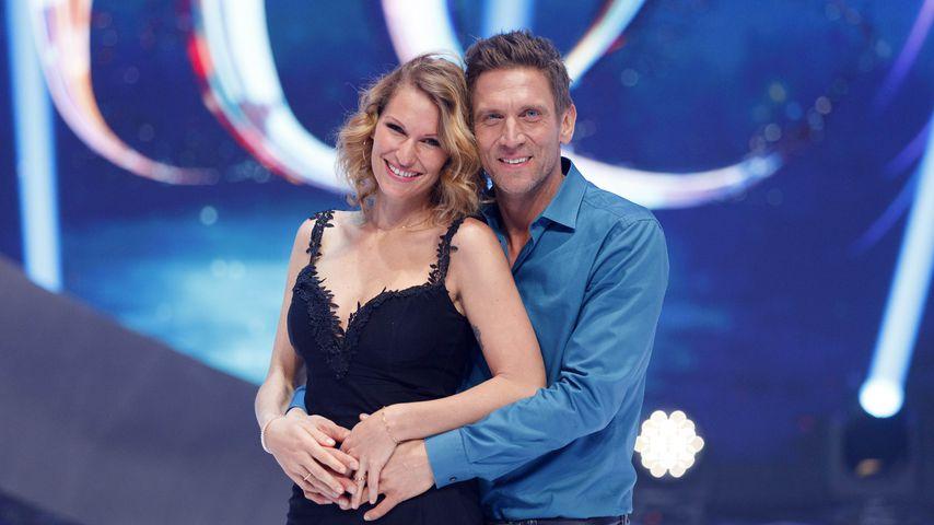 """Wie belastend ist """"Dancing on Ice"""" für Janni & Peers Liebe?"""