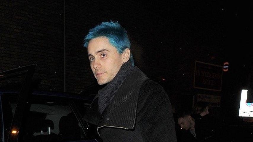 Haarig: Jared Leto ist wieder blau!