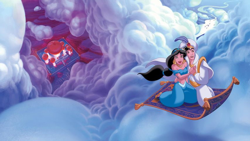 "Jasmin und Aladdin in ""Aladdin"""